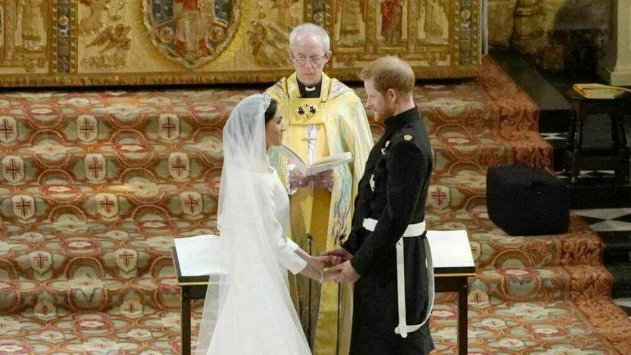 Prinz Harry und Herzogin Meghan gaben sich im Mai 2018 das Jawort. (wue/cos/spot)