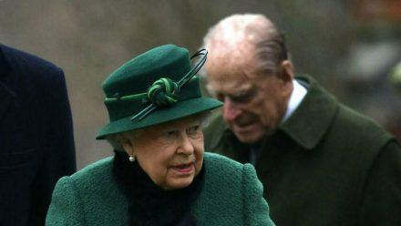 Queen Elizabeth II. und Prinz Philip im Jahr 2018 (wue/spot)