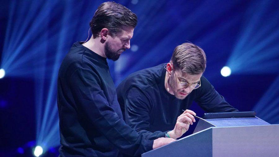 Joko Winterscheidt und Klaas Heufer-Umlauf (l.) konnten die finale Aufgabe nicht lösen (wue/spot)