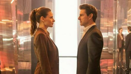 """Mission: Impossible - Fallout"": Kann Ethan Hunt (Tom Cruise) Ilsa Faust (Rebecca Ferguson) vertrauen? (cg/spot)"
