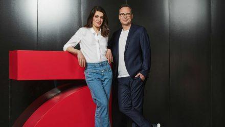 """Linda Zervakis und Matthias Opdenhövel moderieren ab Herbst das Journal """"Zervakis & Opdenhövel. Live."""". (tae/spot)"""