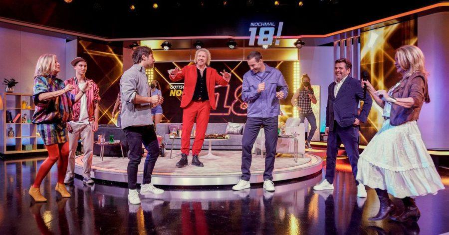 Rund 820.000 Menschen haben den Auftakt der neuen Fernsehshow «Gottschalk feiert: Nochmal 18!» im SWR Fernsehen verfolgt.
