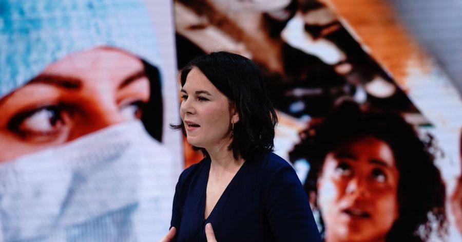 Die Grünen-Vorsitzende Annalena Baerbock will Kanzlerin werden.