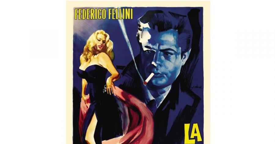 Das DVD-Cover von Fellinis Meisterwerk «La Dolce Vita».