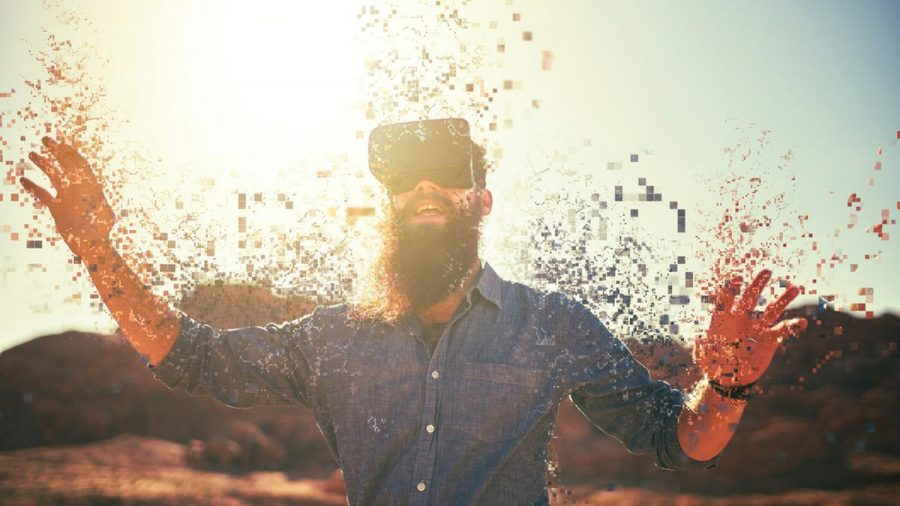 Virtual-Reality-Headsets bringen ihre User an andere Orte. (elm/spot)