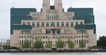 Die Zentrale des britischen Geheimdienstes MI6.