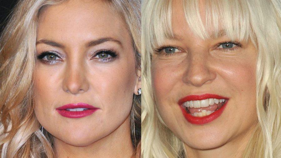 """Kate Hudson (l.) und Sia wurden mit """"Razzies""""-Preisen bedacht. (jom/spot)"""