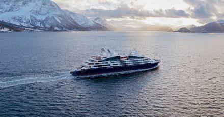 Kreuzfahrtschiff «Le Bougainville» von Ponant:Die französische Reederei verlangt vonCrew und Passagieren eine Corona-Impfung.