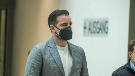Christoph Metzelder am Prozesstag im Amtsgericht Düsseldorf (dr/spot)