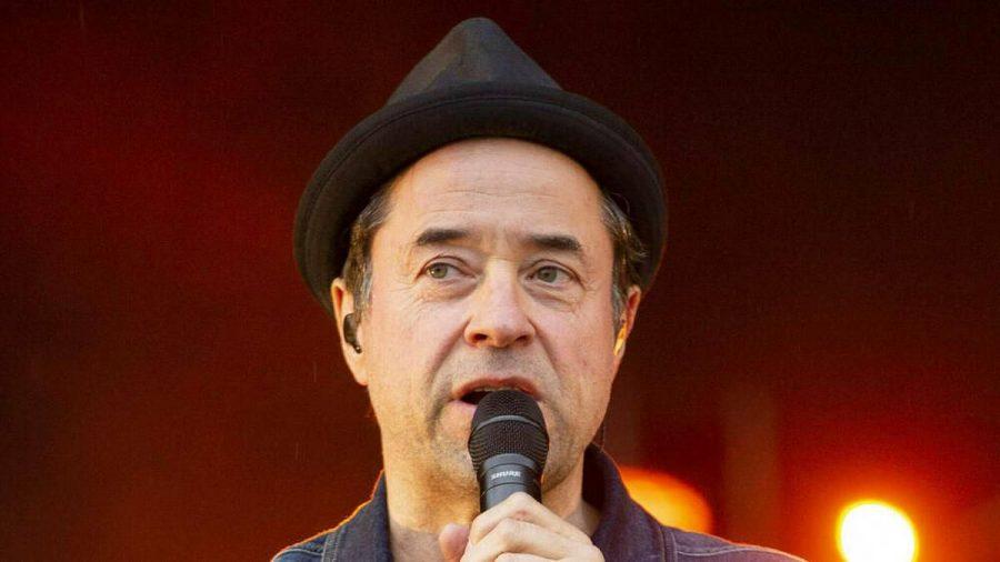 Jan Josef Liefers bei einem Auftritt in Erfurt (hub/spot)