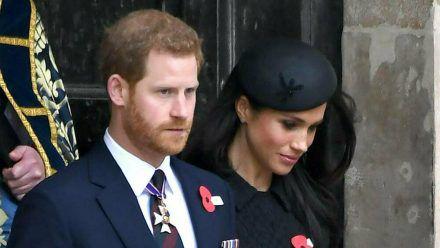 Prinz Harry und Herzogin Meghan gedenken Prinz Philip. (cos/spot)