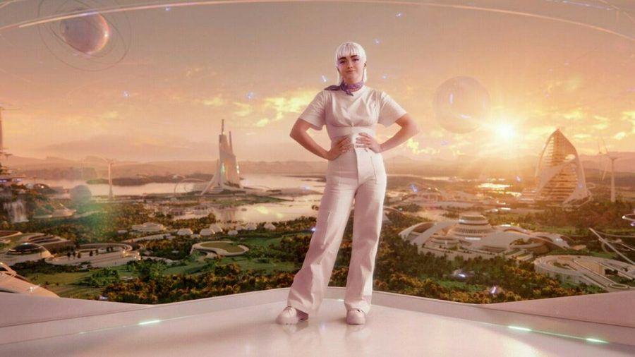 """Maisie Williams verwandelt sich für eine neue Werbekampagne in ihren """"Avatar-Zwilling"""". (jru/spot)"""