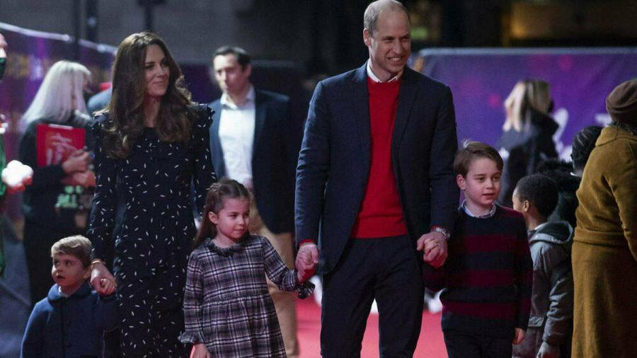 Die perfekte royale Familie: Prinz William und Herzogin Kate mit ihren Kindern Prinz George, Prinzessin Charlotte und Prinz Louis (v.r.n.l.) (dr/spot)