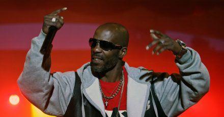 Der US-Rapper DMX bei einem Konzert auf der Bühne. (Archivbild)