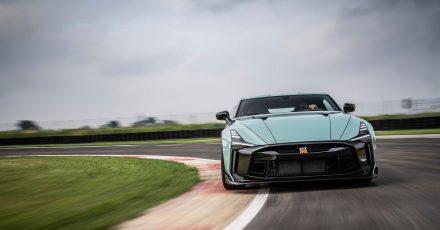 Das bislang teuerste Auto von Nissan: In Kooperation mit Italdesign legen die Japaner den GT-R50 für rund 1,2 Millionen Euro auf.