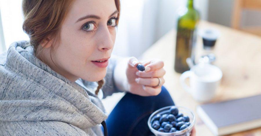 Blaubeeren sind ein gesunder Snack für zwischendurch.