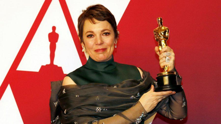 "Olivia Colman mit ihrem Oscar für ""The Favourite"" (wue/spot)"
