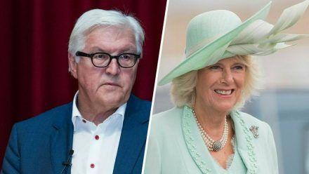 Sowohl Bundespräsident Frank-Walter Steinmeier als auch Herzogin Camilla wurden mit AstraZeneca geimpft (stk/spot)