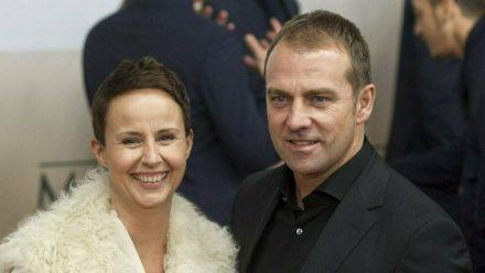 Hansi Flick mit seiner Ehefrau Silke (stk/spot)