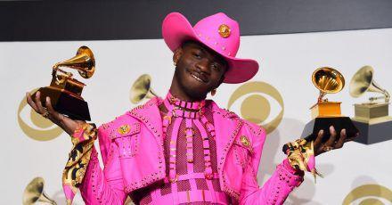Rapper Lil Nas X bei der Grammy-Verlehung 2020.