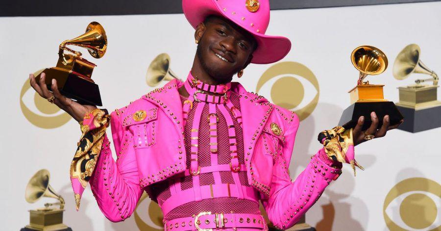 Rapper Lil Nas X bei der Grammy-Verleihung 2020.