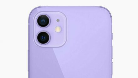 iPhone 12 und iPhone 12 mini gibt es ab 30. April auch in Violett (wue/spot)