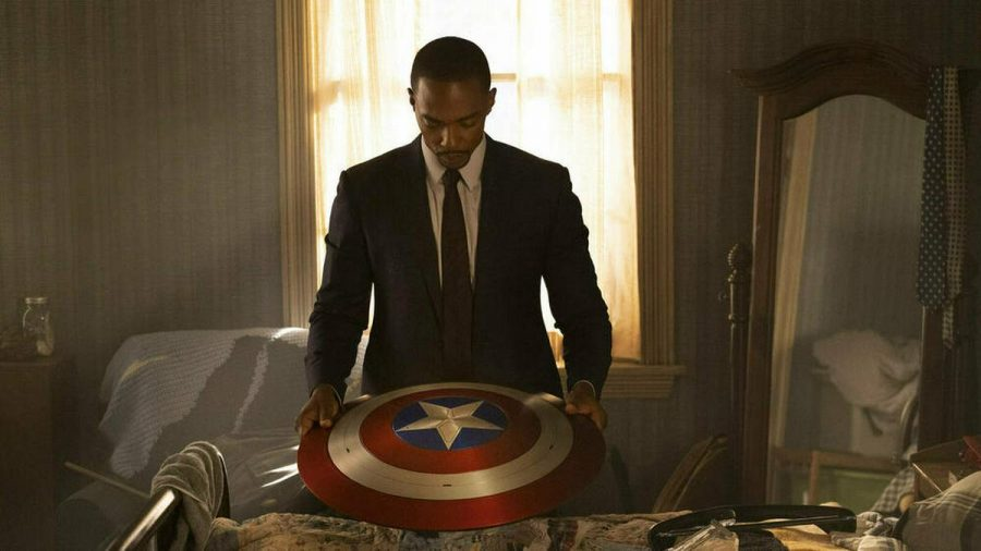 "Anthony Mackie spielt in der Serie ""The Falcon and The Winter Soldier"" Captain America. (jru/spot)"