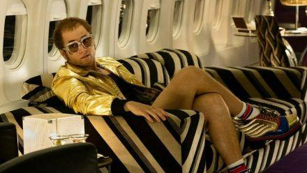 """Rocketman"": Elton John (Taron Egerton) lässt sich von Rückschlägen nicht aufhalten (cg/spot)"