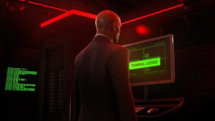 "Agent 47 in ""Hitman 3"". (wue/spot)"