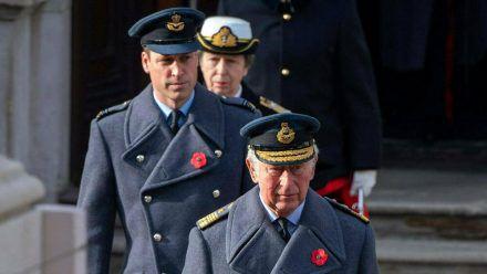 Noch steht Prinz William (l.) in der britischen Thronfolge hinter seinem Vater Prinz Charles. (wag/spot)