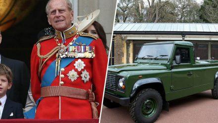 Prinz Philip hat Insignien und Bestattungsauto für seine Beerdigung selbst ausgewählt (eee/spot)
