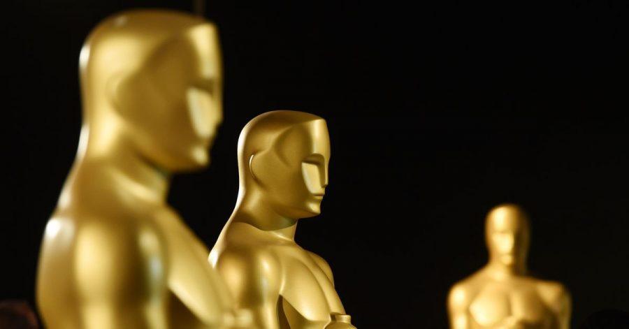 Oscar-Statuen stehen bereit.