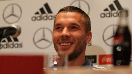 Lukas Podolski kickt derzeit für den Verein Antalyaspor in der Türkei. (wag/spot)