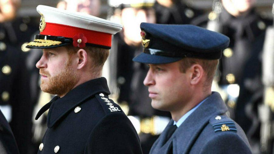 Prinz Harry (li.) und Prinz William werden zur Trauerfeier für Prinz Philip wohl keine Uniformen tragen. (cos/spot)