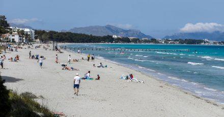 38 Neuinfektionen binnen 24 Stunden: Die Corona-Ampel auf Mallorca zeigt derzeit auf grün.