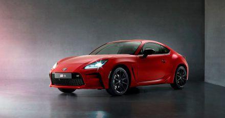 Startklar: Den GR86 rollt Toyota als Nachfolger für den GT86 im zweiten Halbjahr auch in Europa auf die Straßen.