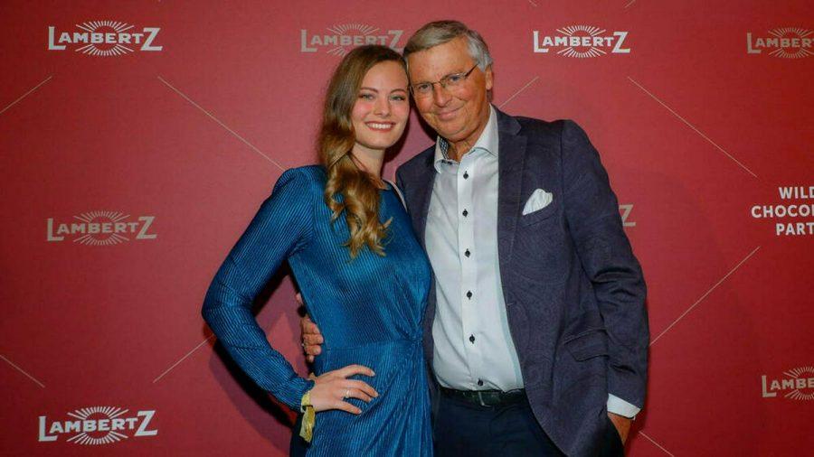 Wolfgang Bosbach mit seiner Tochter Viktoria Anfang 2020 (wue/spot)