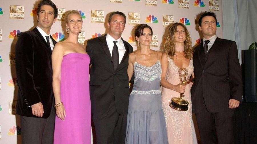 "Der Cast der Kultserie ""Friends"" hat sich erneut zusammengefunden. (jom/spot)"