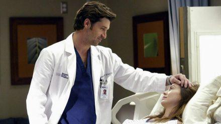 Dr. Derek Shepherd (l., Patrick Dempsey) und Dr. Meredith Grey (Ellen Pompeo) waren über viele Staffeln ein (Serien-)Traumpaar. (wag/spot)