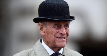 Der britische Prinz Philip, Herzog von Edinburgh, bei seinem letzten öffentlichen Auftritt (2017).
