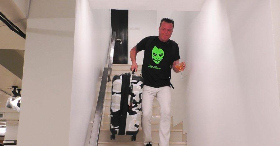 Marcus Prinz von Anhalt, Kandidat der Sat.1-Reality-Show «Promis unter Palmen» muss die Villa verlassen.