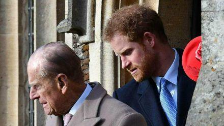Prinz Philip und Prinz Harry sollen ein gutes Verhältnis miteinander gepflegt haben. (cos/spot)