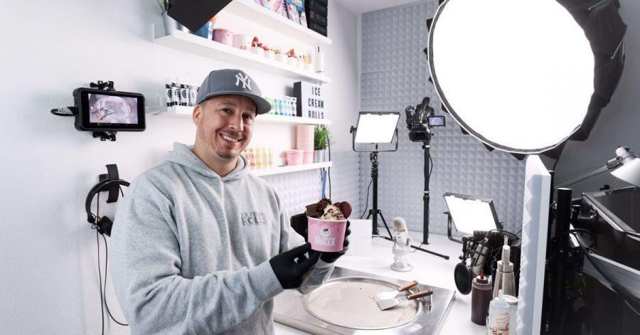 Gil Grobe, Youtuber, erreicht mit seinen kalten Kreationen ein Millionen-Publikum in aller Welt - vor allem in Asien und den USA.