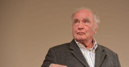 Martin Walser bei einer Lesung im Literaturhaus Stuttgart 2018.