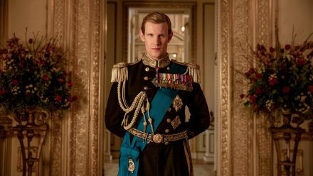 "Matt Smith als Prinz Philip in ""The Crown"". (cos/spot)"