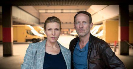Julia Grosz (Franziska Weisz) und Thorsten Falke (Wotan Wilke Möhring) müssen manchen Rückschlag verkraften.