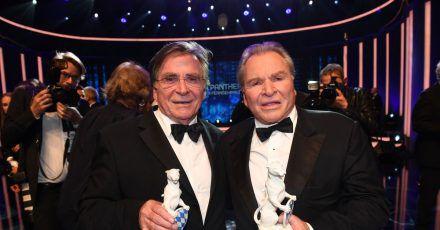 Elmar (l) und Fritz Wepper (2019).