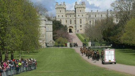 Die Trauerfeier für Prinz Philip findet in Windsor statt. (wue/spot)