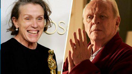 Frances McDormand und Anthony Hopkins haben seit Sonntagnacht einen weiteren Oscar im Trophäenschrank (stk/spot)