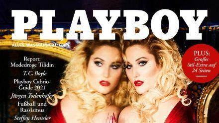 """Hayley Hasselhoff auf dem Cover des deutschen """"Playboy"""" (wue/spot)"""